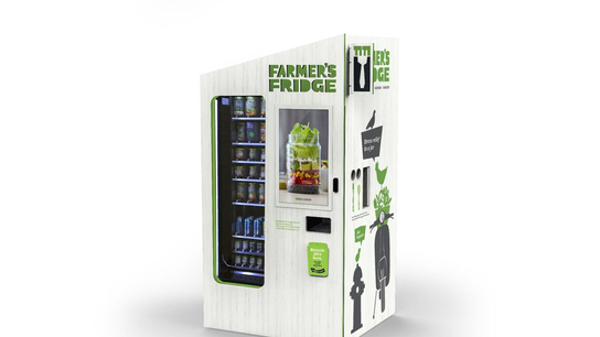 Why salad vending machines are becoming big business in Chicago
