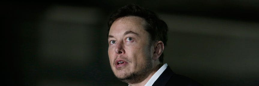 Fox business business news stock quotes saving investing tesla chief elon musks comments spur criminal investigation report reheart Gallery