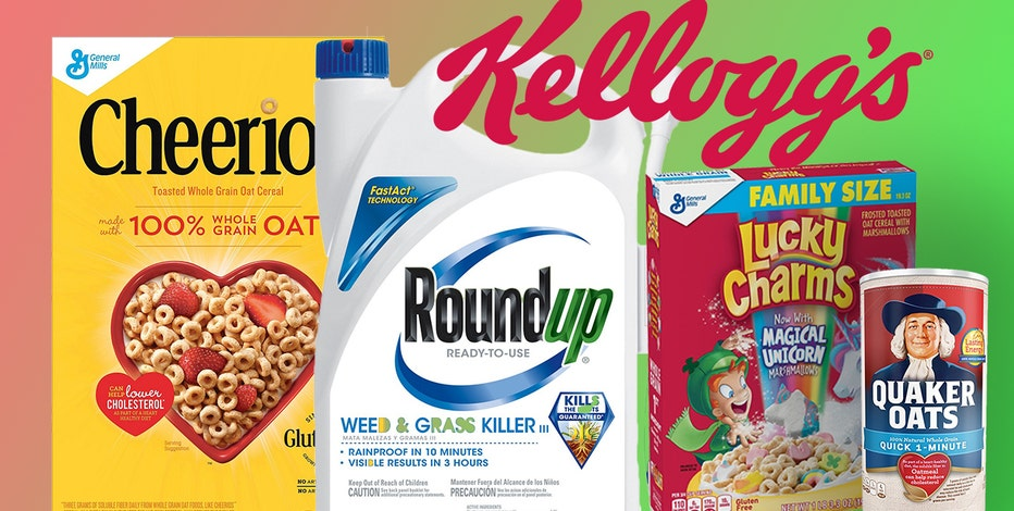 Roundup ingredient found in Cheerios, Quaker Oats, and other