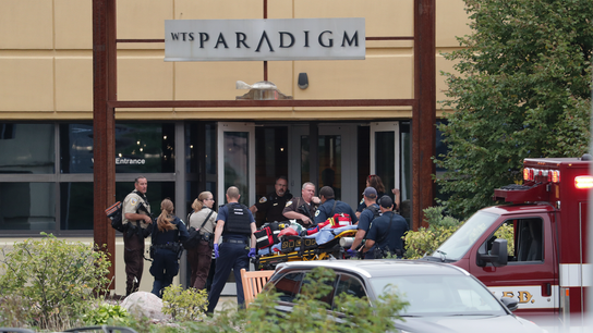 The Latest: Authorities: Workplace shooter died of gunshots