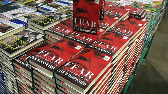 Booming sales for Woodward's 'Fear,' Trump presidency book