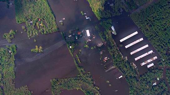 Regulators: NC flooding too bad to tally environmental harm