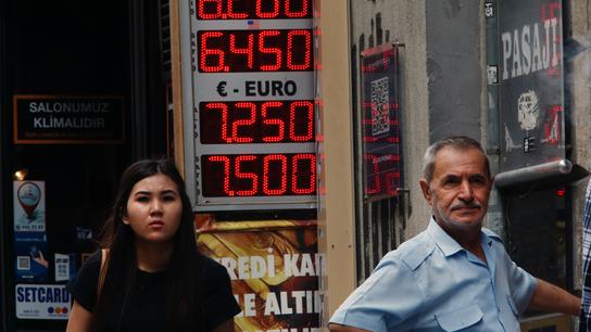 Turkish leader Erdogan criticizes central bank's rate hike