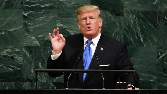 AP FACT CHECK: Trump wrong on judges, 'plummeting' poverty
