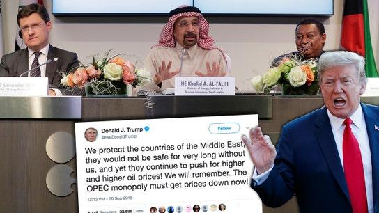 Trump bullies OPEC...again