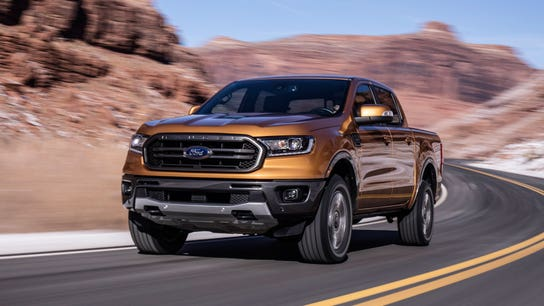 Ford recalls 3,500 newly shipped 2019 Ranger pickups
