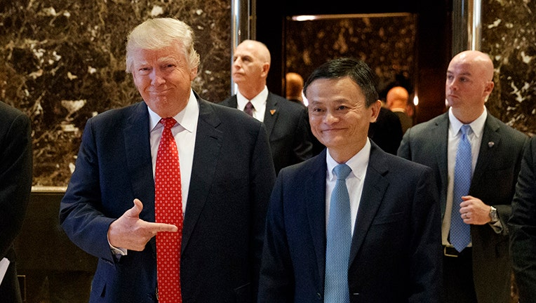 China's Ma reverses US job plan due to trade war