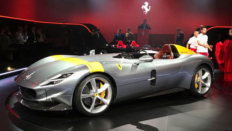 Ferrari Names Suv Eyes 15 New Models In Ambitious Plan Fox Business