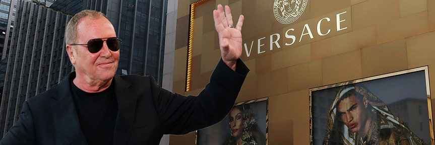 Michael Kors to buy Versace for $2.1B and change its name