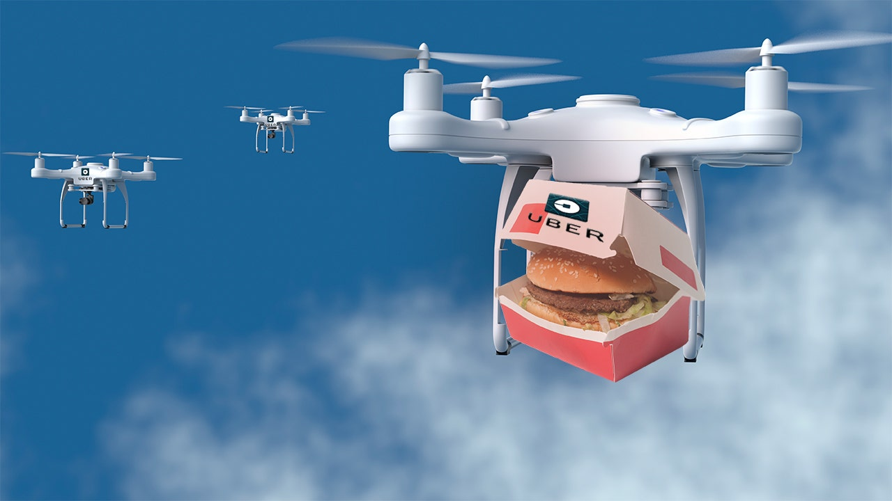 """Résultat de recherche d'images pour """"uber drone burger"""""""