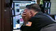 The record stock market is showing signs of cracking