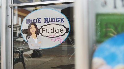 Blue Ridge Fudge Lady: A veteran with a lot of sweetness, a whole lotta gumption