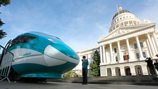 California's $77 billion bullet train will be one of the state's great embarrassments: Larry Ellison