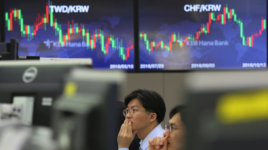 Asian markets mixed on strong Chinese trade data