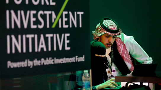 Saudi economic forum opens but many absent over Khashoggi
