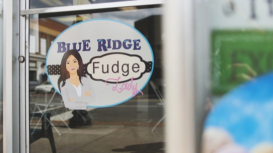 Blue Ridge Fudge Lady: A lot of sweetness, a whole lotta gumption