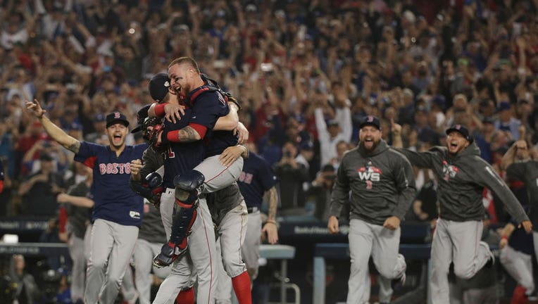 eb75a8053 Red Sox beat Dodgers to win World Series | Fox Business