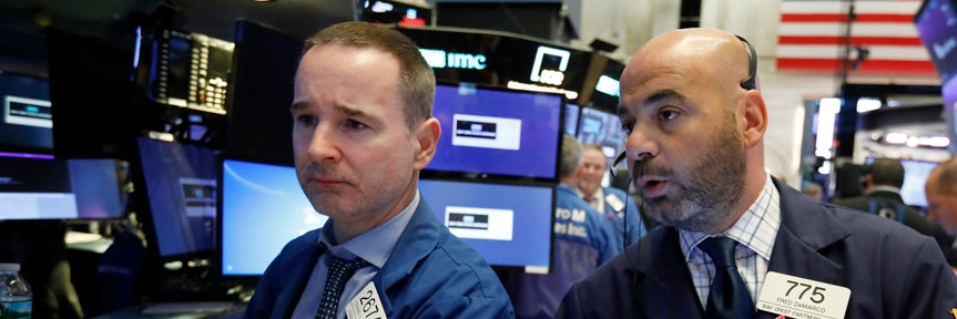 Stocks lower on interest rate concerns