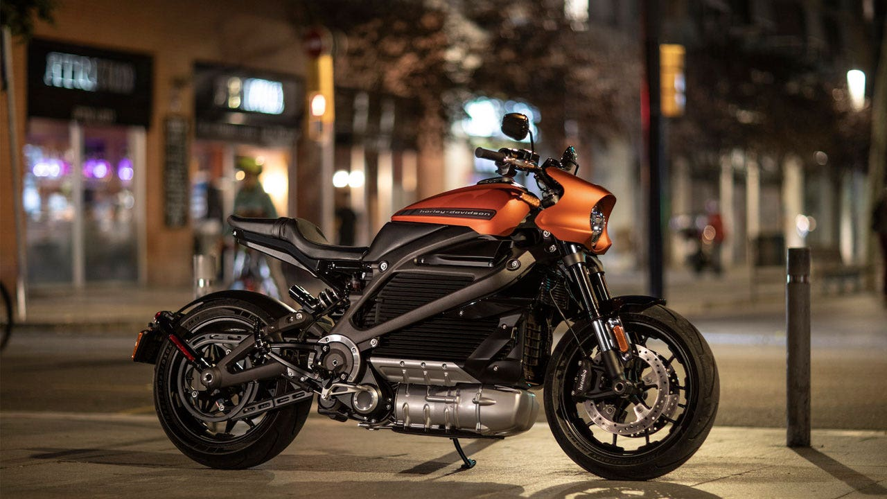 Harley Davidson Gives First Look At New Electric