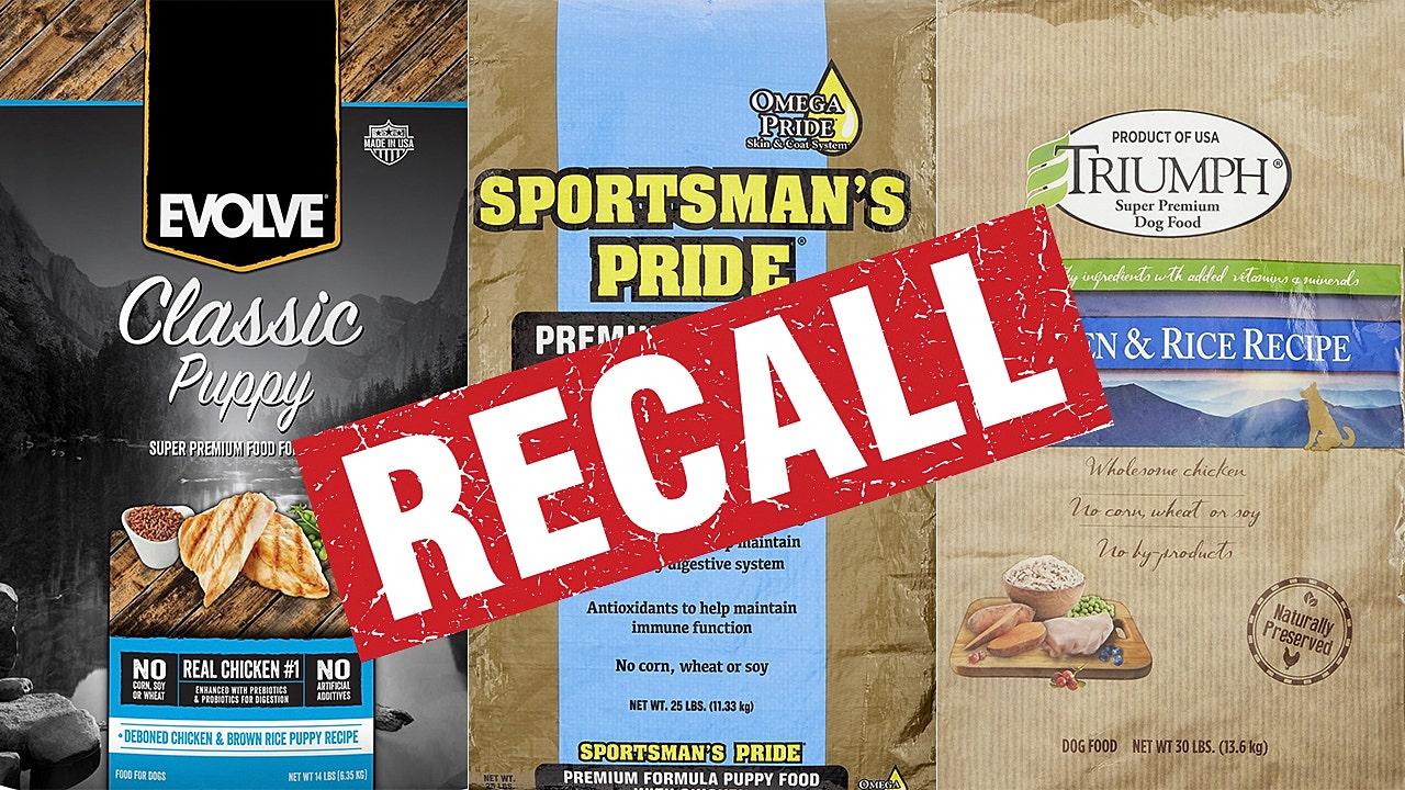 Multiple Dog Food Brands Recalled For Elevated Vitamin D