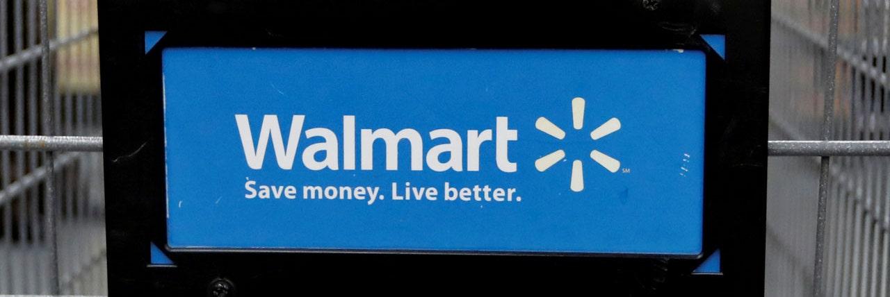 Walmart logo shopping cart 2