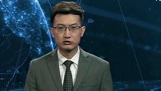 China develops virtual, AI newsperson that looks human