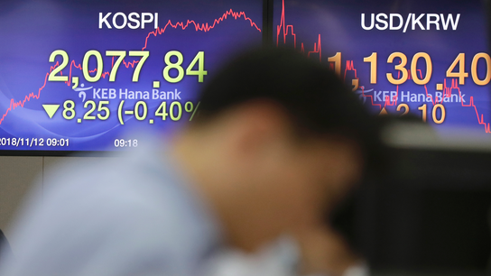 Asia shares gain ahead of key data; oil recovers