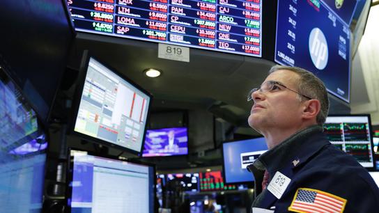 Markets Right Now: Tech stocks lead a slump on Wall Street