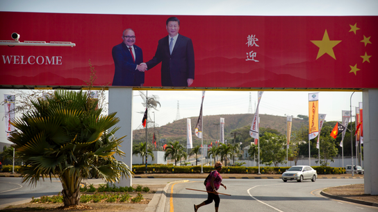 China woos Pacific islands with loans, showcase projects