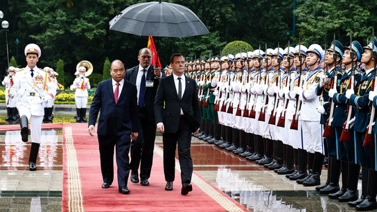 Vietnam and Russia aim to triple bilateral trade by 2020