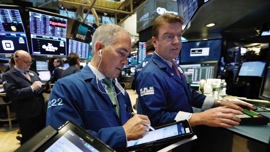 Markets Right Now: Stocks rally on Wall Street post-election