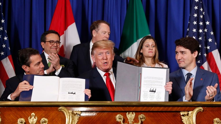 New North American Trade Pact Nears Finish In US Senate