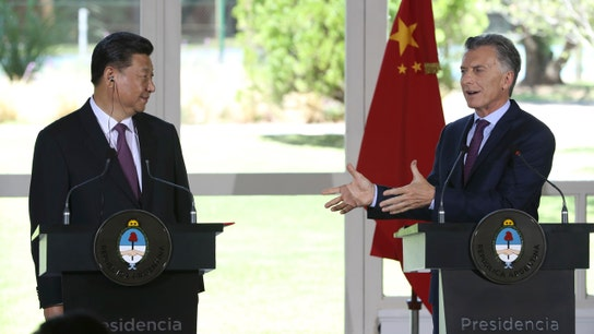 Argentina, China sign deals strengthening ties after G-20