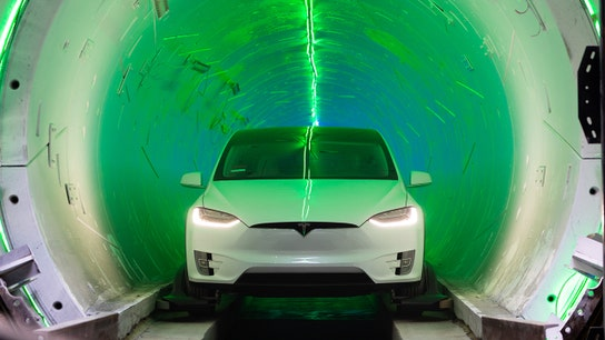 Elon Musk's Boring Company unveils high-speed LA tunnel
