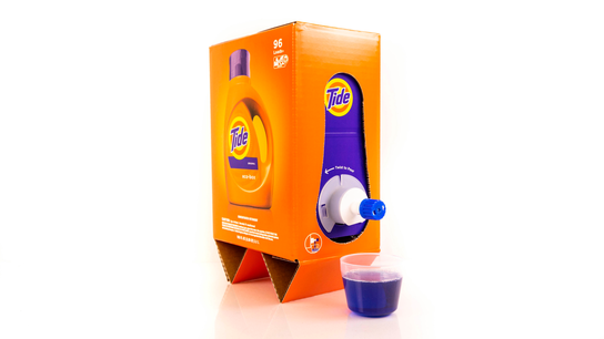 Lighter load: Laundry detergents shrink for Amazon
