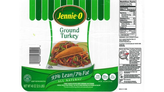 Jennie-O recalls another 160,000 pounds of turkey meat due to salmonella fears