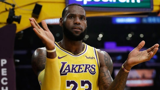 LeBron James, Walmart team up to feed hungry families
