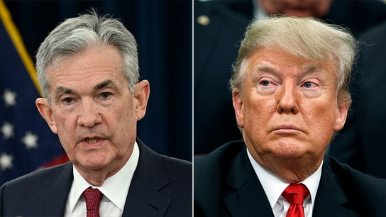 Trump criticizes Federal Reserve once again, slamming 'faulty thought process'