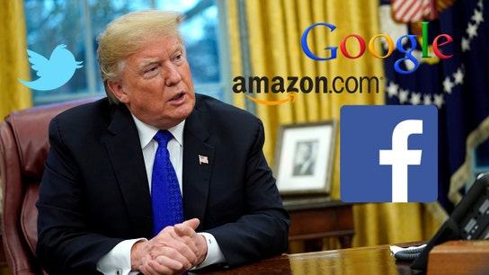Trump vs. Tech: Amazon, Twitter, Google faced presidential criticism in 2018