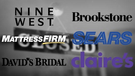 Sears, Mattress Firm lead retail bankrupt 2018 list