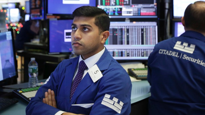 Stocks a sea of red after Trump says China trade deal can wait