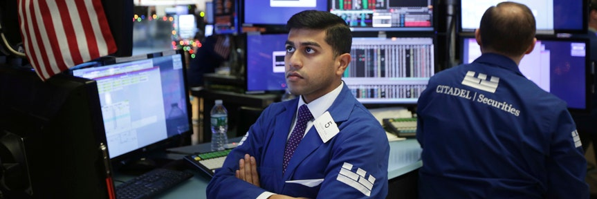 US STOCKS CLOSE OUT THIRD CONSECUTIVE WEEK OF LOSSES