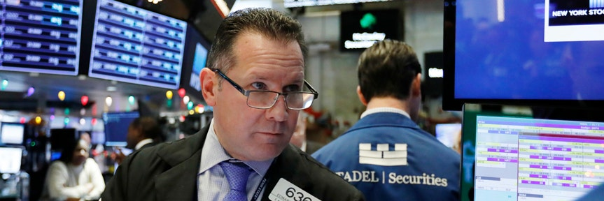 Stocks post modest gain as Fed signals economic growth worries