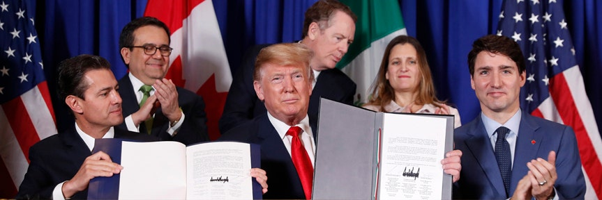 Trump admin hopes to move USMCA legislation to Congress this summer