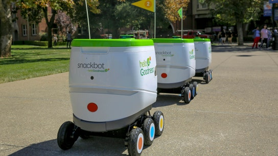PepsiCo tests self-driving robot delivery at California university
