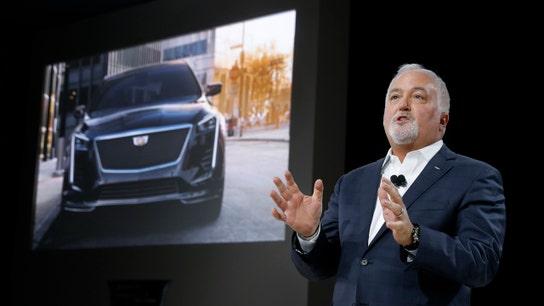 Cadillac leads GM's push for electrics, remains bullish on China