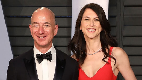 What MacKenzie Bezos has said about her husband in the past