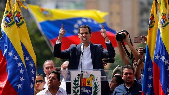 Venezuelan opposition leader Juan Guaido says Maduro is blocking aid for country's children