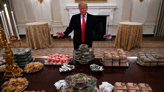 Trump's Clemson fast food feast cost $3K: Report