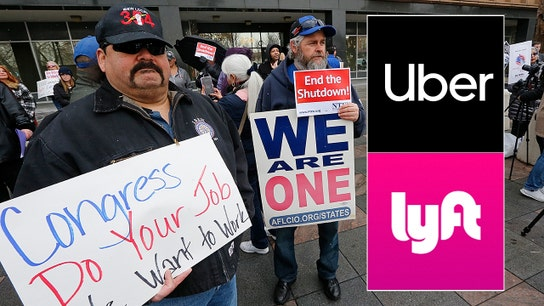 Federal employees turning to Uber, Lyft to make ends meet